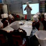 Class with Chef Caldora
